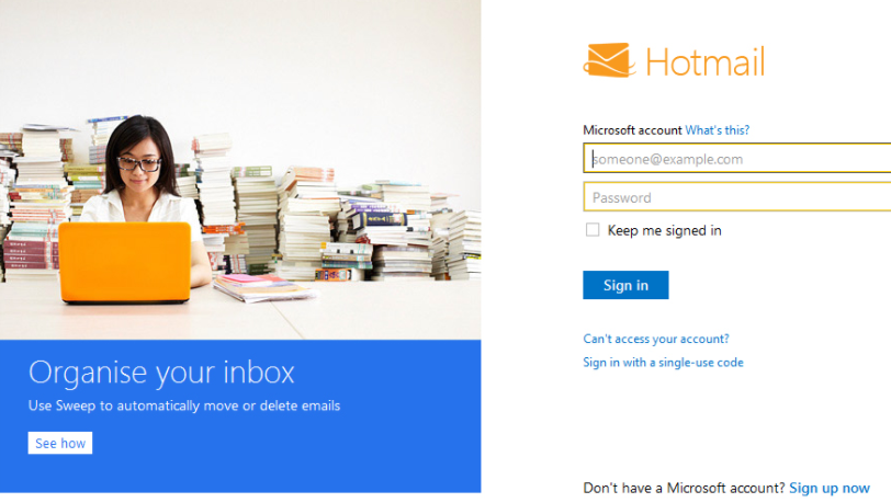 hotmail-login