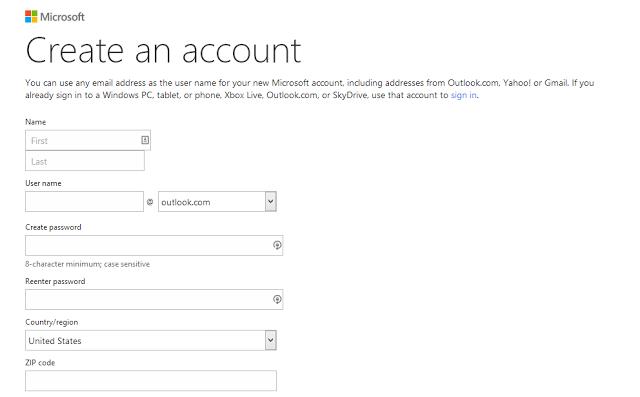 So erstellen Sie ein Hotmail-Konto