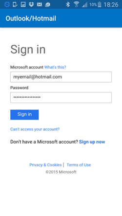 hotmail-mobile-app