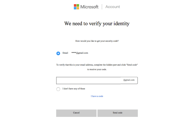 hotmail-verify-code