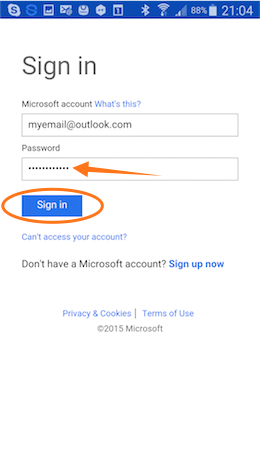 onedrive login mob 10
