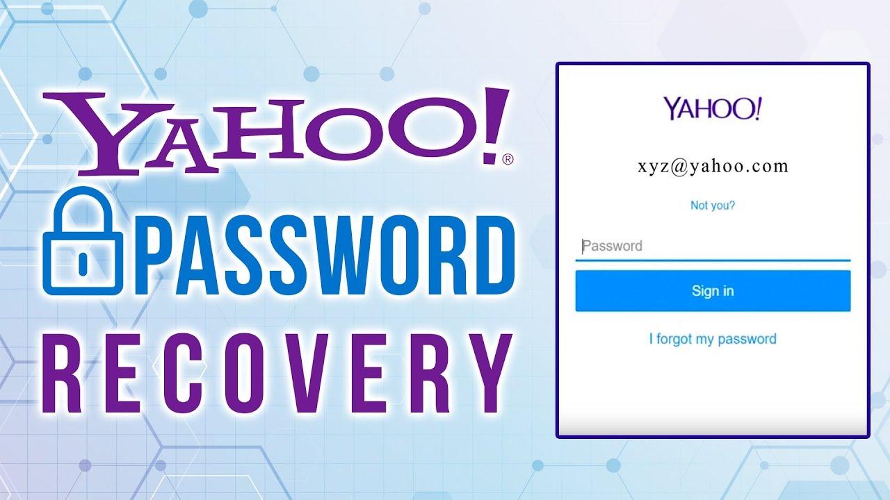 Forgot Yahoo Password